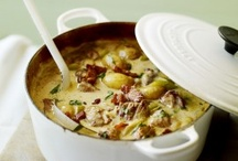 Food: Soup.Zuppa.Supper / by June Kay Mackey