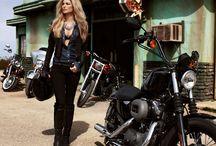 Biker Lady 's Fashion