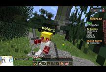 """Minecraft / Minecraft je počítačová hra, napsaná v Javě, která byla vyvinuta v roce 2009 švédským vývojářem Markusem """"Notchem"""" Perssonem. zdroj: Wikipedie"""