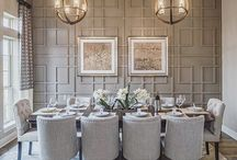 dining feature wall