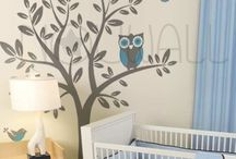 Bedroom ideas!  / Nursery ideas