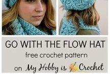 Hat, scarf,  gloves - crochet pattern / Sapka, sál, kesztyű - horgolás minták / Patterns and ideas Minták és ötletek