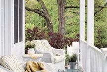 back porch ideas / by Annette Williams