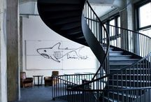 Stairs Inspiration / A Collection of exciting and unusual staircases the we like.