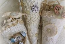 Lace and pretty things to make