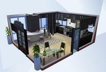 habitaciones sims 4