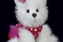 Valentine's Day Gift Ideas / Stuffed animals are great gift ideas for Valentine's Day. Give your someone special something soft, cute and made from the finest fabrics around. Animals are from the Bearington Collection.