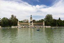 Parque de El Retiro / Uno de los lugares más emblemáticos de la ciudad de Madrid. Se trata de un parque de 118 hectáreas que tiene su origen entre los años 1631 y 1640.