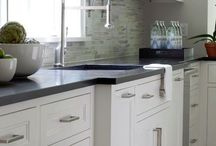 Kitchen backsplash