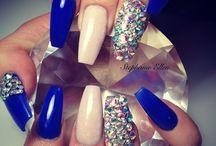 acrylic nail ideas ♡