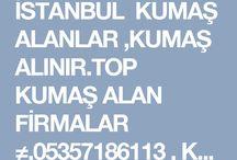 top kumaş alan firmalar 05357186113,parti kumaş alan firmalar
