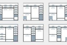 Схема встроенного шкафа