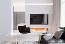 Interior gypsum board walls