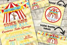 Under the big top / by Marcy {simply sprout}