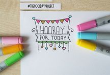The 100 days project