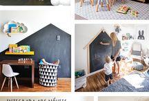 Parede giz quarto infantil