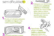 Limpeza e organização da casa
