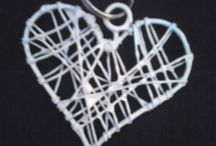 Mark's Arts / All hand made wire and beaded arts for hanging or just plain decorating