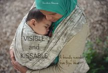 Visible and Kissable / Bijou Wear crafts woven wraps and ring sling baby carriers that snuggle newborns and toddlers alike. We believe in babywearing for everybody and Every Body! #BijouBabywearing #WeAreBijou #Babywearing #WovenWraps