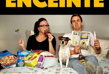 pregnancy announcement photos funny