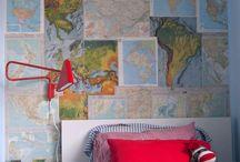 jamestown boys room / shared boys room / by Chiara Milott
