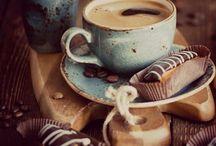 coffe, read & book