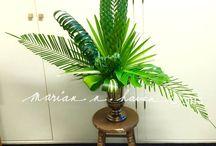Palm Sunday flower arrangements