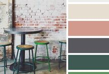 |Paint colors & Pallets / Find the perfect color for every room in your home with this inspiration ideas and photos... For more inspiration visit my blog, sigrekiannainteriors.com