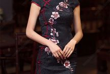 Cheongsam Shanghai Dress