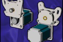 Cnc drive parts