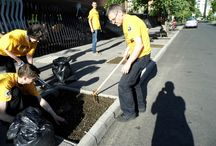 Önkéntesség XIII. kerület - Volunteerism D13 Budapest / Önkéntesség a XIII. kerületben, parktisztítási akciók Volunteer work at District 13 Budapest, park cleanup actions