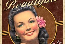 Vintage Style / Actual and/or vintage style posters/ads/graphic design etc