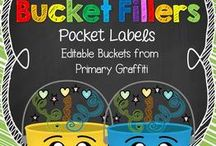 Classroom Management: Bucket Fillers / by Danielle Butman
