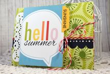 Summer Time / Cards inspired by summer, summer crafts, tutorials and more.