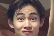 Taehyung funny and random faces