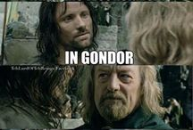 Middle Earth Funnies