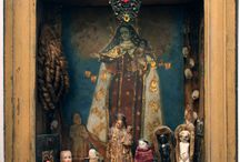 Little altars everywhere!