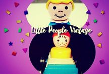LITTLE PEOPLE VINTAGE. (my collection) / ©LauryRow. / https://www.facebook.com/pg/Disneycollecbell%20/photos/?tab=album&album_id=705619429519750