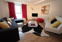 Lower North Aisle (AC19) / This apartment is on the second floor and is decorated with a modern feel; views over the estate; there is a double bedroom; twin bedroom; small double sofa bed in the lounge.  The en-suite has a separate shower and the family bathroom has a bath. Sleeps up to 6 people.