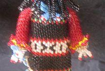 Zuni Bead figures