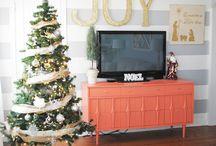 Christmas trees and decor / Christmas