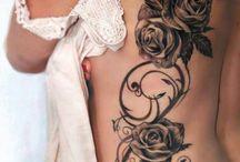rose tatouage