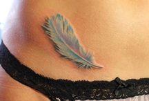 Tatuaje plumas