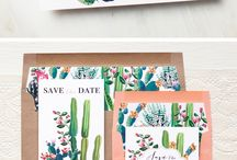 Cactus Wedding Theme