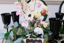 Wedding inspiration / Styled by Rebecca of Glimmer &Threads and photographed by Kylee Yee Photography.
