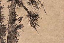 Drzeworyt i malarstwo tuszem