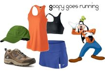 Running outfits for Disney