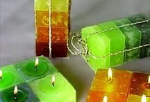 Candle DIY / Świece