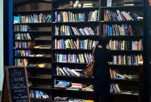 Bookshelves and nooks