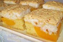 prăjitură cu caise și bezea